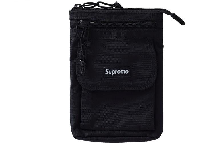 Supreme Shoulder Bag (FW19)- Black