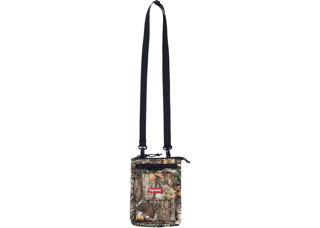 Supreme Shoulder Bag (FW19)-Tree Camo