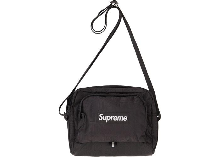 Supreme Shoulder Bag (SS19)- Black