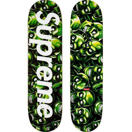 Supreme Skull Pile Deck- Black