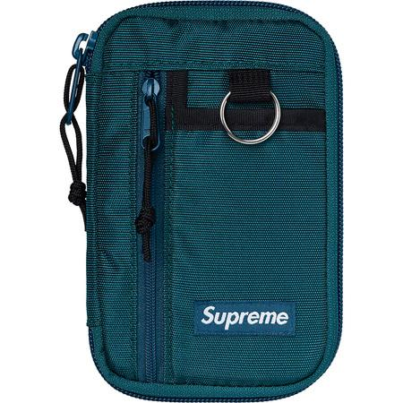 Supreme Small Zip Pouch- Dark Teal