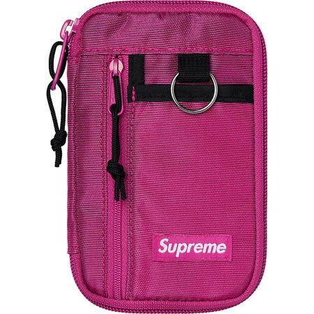 Supreme Small Zip Pouch- Magenta