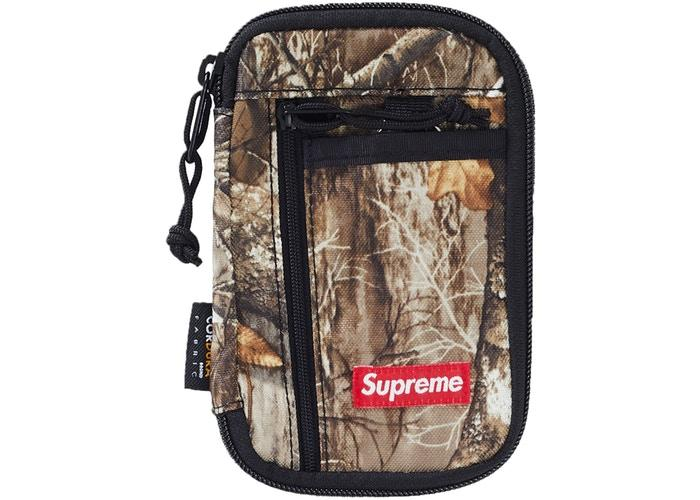 Supreme Small Zip Pouch- Tree Camo