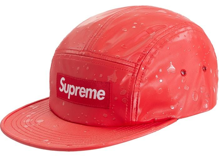 Supreme Splatter Camp Cap- Red