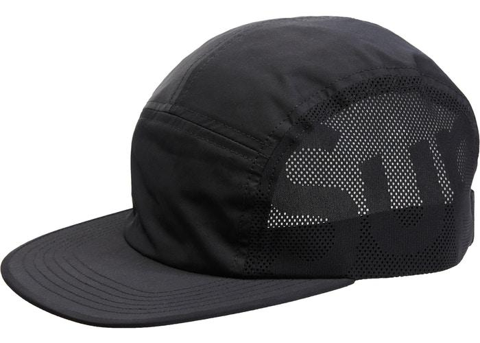 Supreme Sup Mesh Camp Cap- Black