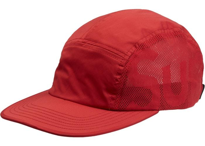 Supreme Sup Mesh Camp Cap- Red