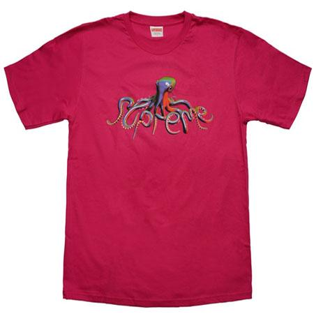 Supreme Tentacles Tee- Hot Pink