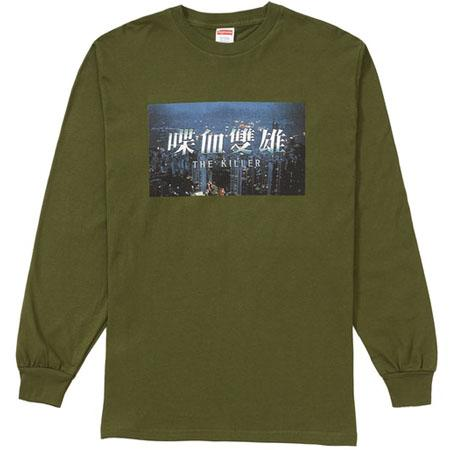 Supreme The Killer L/S Tee- Olive