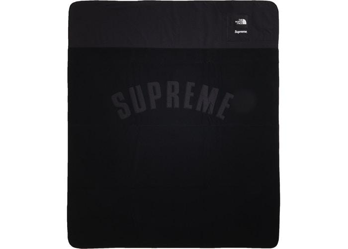 Supreme The North Face Arc Logo Denali Fleece Blanket- Black