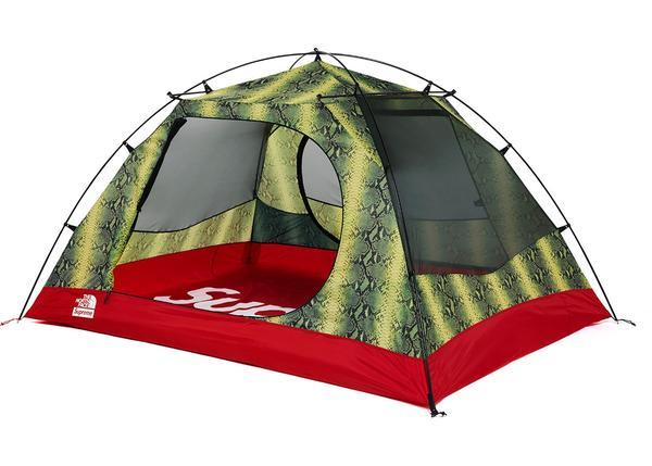 Supreme The North Face Snakeskin Taped Seam Stormbreak 3 Tent - Green