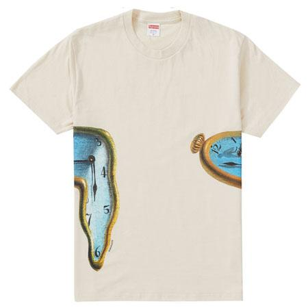Supreme The Persistence Of Memory Tee- Natural