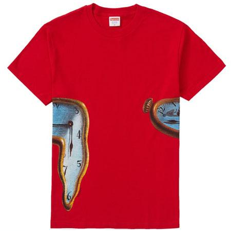 Supreme The Persistence Of Memory Tee- Red