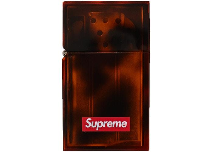 Supreme Tsubota Pearl Hard Edge Lighter- Tortoise