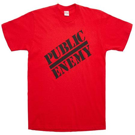 Supreme UNDERCOVER/Public Enemy Tee- Red
