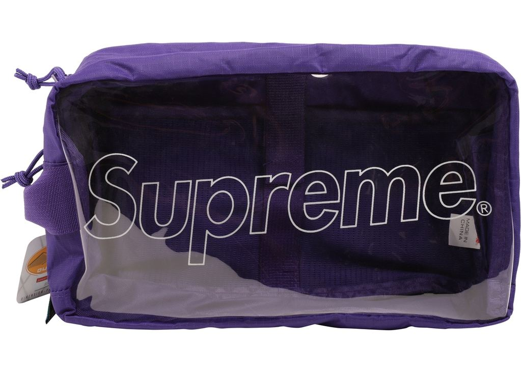 Supreme Utility Bag (FW18)- Purple