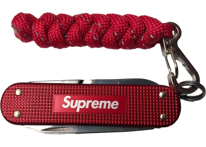Supreme Victorinox Classic Alox Knife- Red