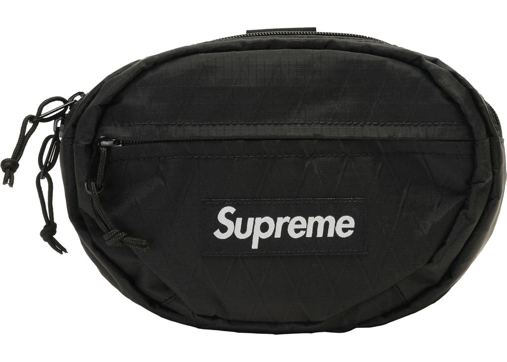 Supreme Waist Bag (FW18)- Black