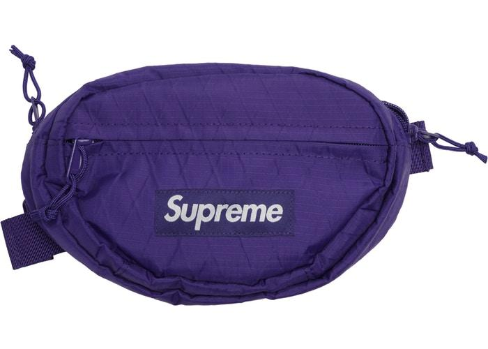 Supreme Waist Bag (FW18)- Purple