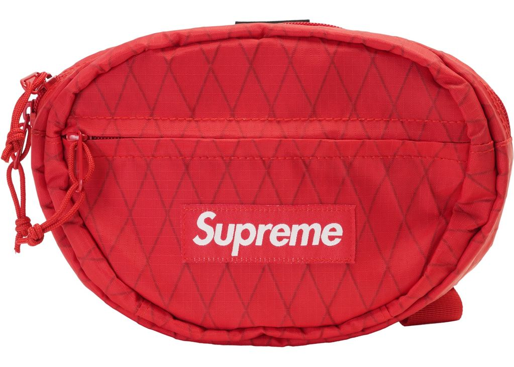 Supreme Waist Bag (FW18)- Red