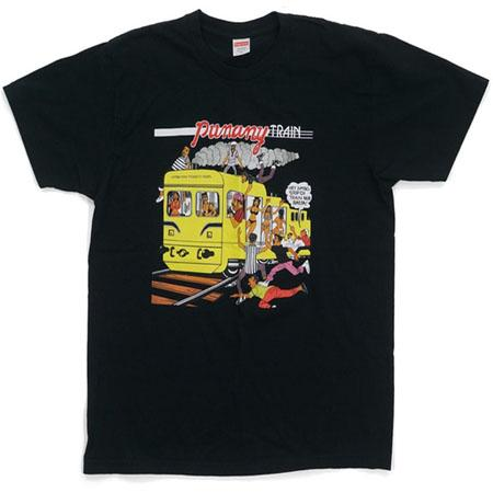 Supreme Wilfred Limonius Punany Train Tee- Black
