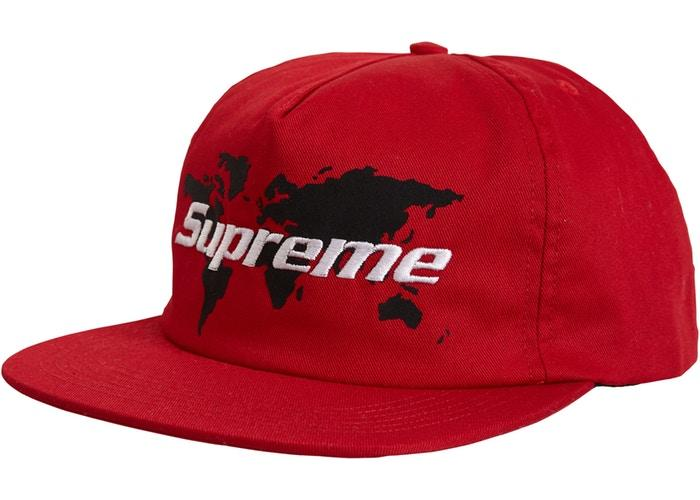 Supreme World 5 Panel- Red
